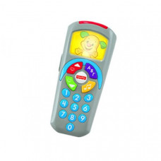 FISHER PRICE LAUGH & LEARN CLICK N LEARN REMOTE CONTROL - BLUE (IN GREEK) (DLK58)