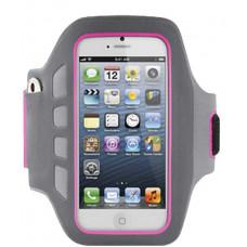 Θήκη Μπράτσου Ancus για Apple iPhone SE/5/5S/5C Μαύρη-Ρόζ