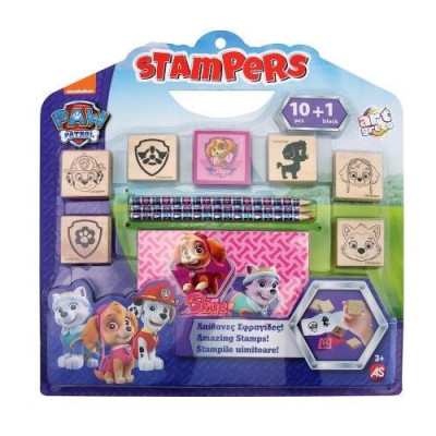 AS Stampers Nickelodeon Paw Patrol - Female Dogs Amazing Stampers Set (1023-63030)