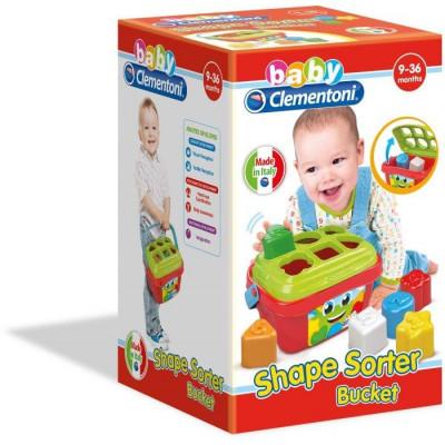 AS Baby Clementoni Shape Sorter Bucket (1000-17106)
