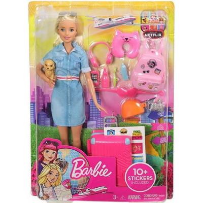 Mattel Barbie Dreamhouse Adventures - Blonde Doll with Puppy (FWV25)
