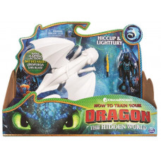 Spin Master - How to Train Your Dragon - Dragon & Viking - Hiccup & Lightfury (20103716)