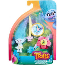 Hasbro - Trolls Hair Raising Chenille & Troll Baby (E0444)