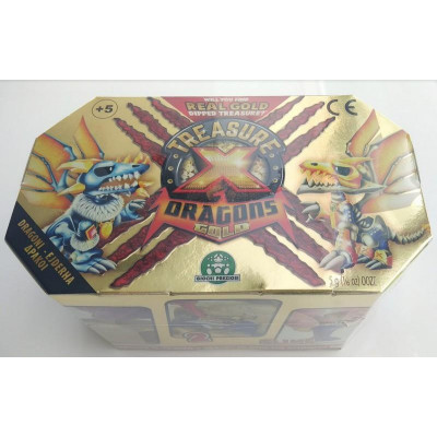 Giochi Preziosi - Treasure-X S2 Dragons Gold - Dragons (Cdu 12 pcs) (TRR08000)