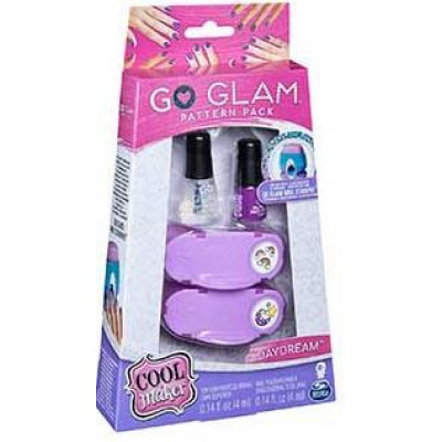 Spin Master Cool Maker: Go Glam Pattern Pack Nail Stamper - Daydream (20107965)