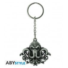 Abysse Cthulhu - Cthulhu Metal Keychain (ABYKEY317)