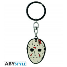 Abysse Friday The 13th Movie - Mask Metal Keychain (ABYKEY310)