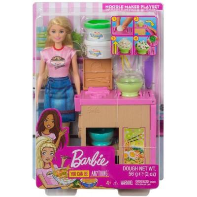 Mattel Barbie - Noodle Maker Doll and Playset (GHK43)