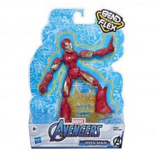 Hasbro Marvel: Avengers Bend and Flex - Iron Man Action Figure (15cm) (E7870)