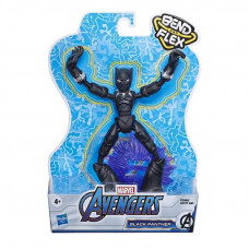 Hasbro Marvel: Avengers Bend and Flex - Black Panther Action Figure (15cm) (E7868)