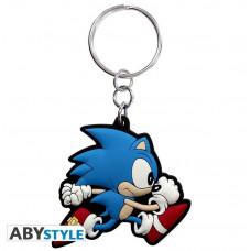 Abysse Sonic - Sonic Run PVC Keychain (ABYKEY122)