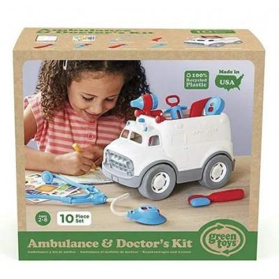 Green Toys: Ambulance & DoctorS Kit (AMDK-1313)