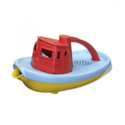 Green Toys: Tug Boat Red (TUG01R-R)
