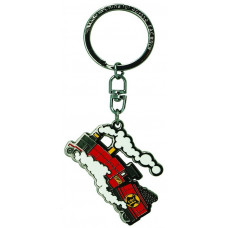 Abysse Harry Potter - Hogwarts Express Metal Keychain (ABYKEY343)
