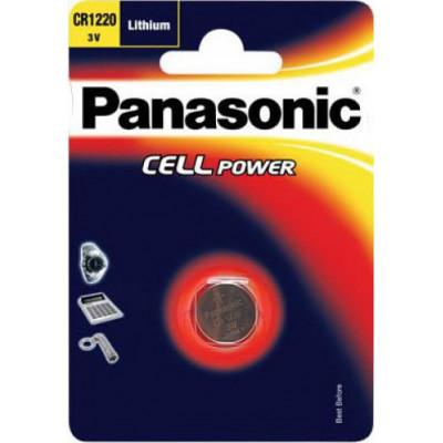 1 Panasonic CR 1220 Lithium Power