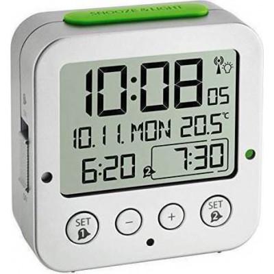 TFA 60.2528.54 Bingo Funk Alarm Clock with Temperatur