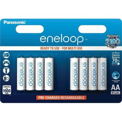 1x8 Panasonic Eneloop Mignon AA 1900 mAh