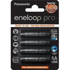 1x4 Panasonic Eneloop Pro Mignon AA 2500 mAh