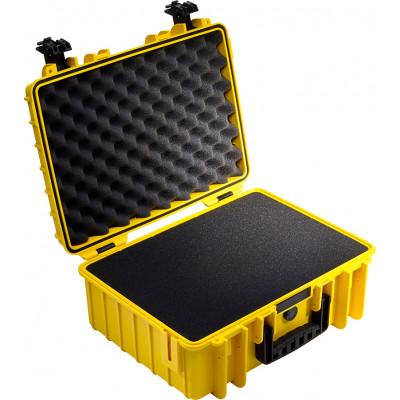 B&W International Type 5000 yellow incl. pre-cut foam