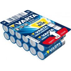 1x12 Varta High Energy AA LR 6 Ready-To-Sell Tray Big Box