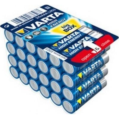 1x24 Varta High Energy AAA LR 3 Ready-To-Sell Tray Big Box