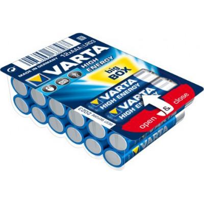 1x12 Varta High Energy AAA LR 3 Ready-To-Sell Tray Big Box