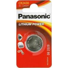 1 Panasonic CR 2430 Lithium Power