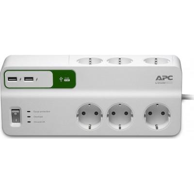 APC Essential SurgeArrest 6 with USB