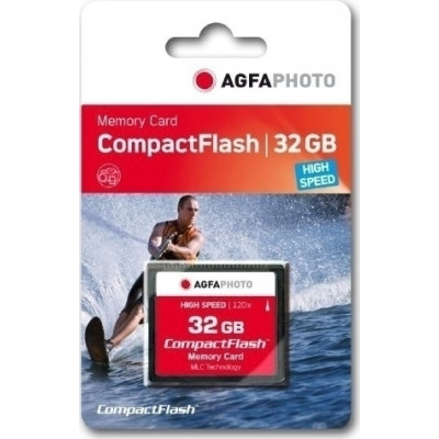 AgfaPhoto Compact Flash     32GB High Speed 300x MLC