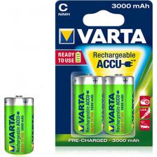1x2 Varta Rechargeable Accu C Ready2Use NiMH Baby 3000 mAh