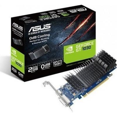 Asus GeForce GT 1030 2GB LP Silent (90YV0AT0-M0NA00)      Asus Radeon R7 240 2GB LP (90YV04T0-M0NA00)