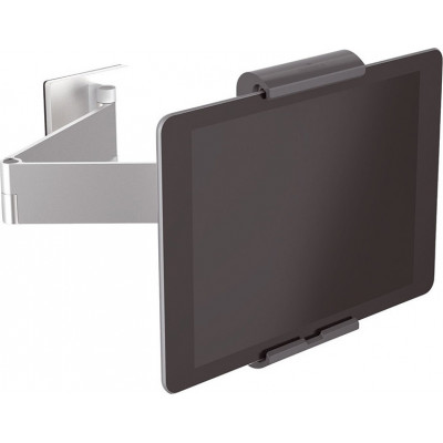Durable Tablet Holder WALL ARM silver