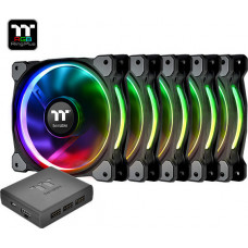Thermaltake Riing Plus 12 RGB Radiator Fan TT Premium Edition 120mm (5 Fan Pack)