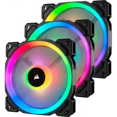 Corsair LL120 RGB 3 Fan Pack with Lighting Node PRO 120mm