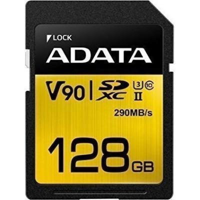 ADATA SDXC UHS-II U3 Class 10 128GB Premier One
