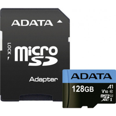 ADATA microSDXC UHS-I Class 10 128GB Premier with Adapter A1