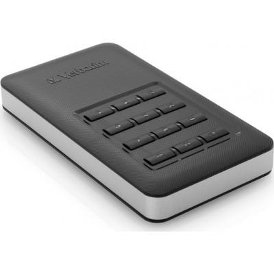 Verbatim Store n Go Portable SSD with Keypad Access 256GB