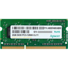Apacer 2GB DDR3-1600MHz (AS02GFA60CAQBGC)