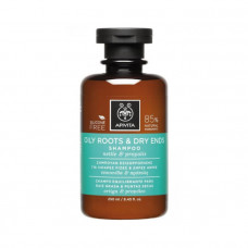 Apivita Shampoo for Fat Roots and Dry Tips 250ml