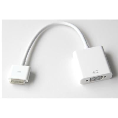 Adapter iPhone 4 to VGA Aculine AD-006