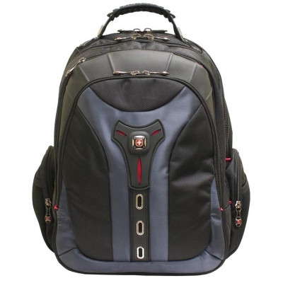 Wenger Pegasus 17  grey/blue Computer Backpack
