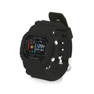 Ksix SMART BAND RETRO WITH 24 H HEART RATE MONITOR black