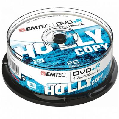 EMTEC DVD+R 4.7GB 16x CAKE BOX 25pcs