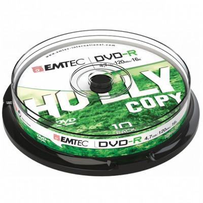 EMTEC DVD-R 4.7GB 16x CAKE BOX 10pcs