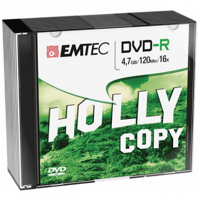 EMTEC DVD-R 4.7GB 16x SLIM 10pcs