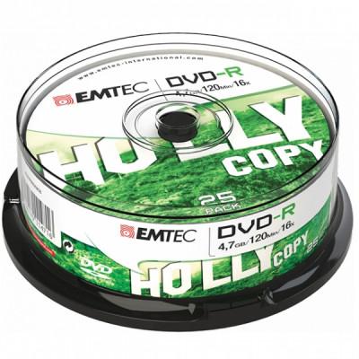 EMTEC DVD-R 4.7GB 16x CAKE BOX 25pcs