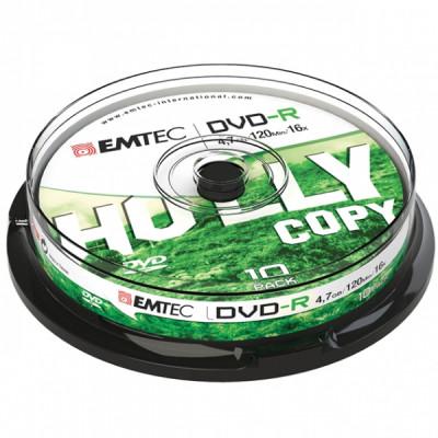 EMTEC DVD-RW 4.7GB 1-4x CAKE BOX 10pcs