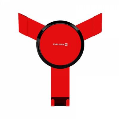 EVELATUS UNIVERSAL CAR HOLDER AIRVENT ECH03 red