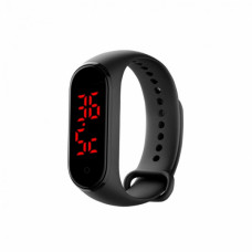 CONTACT THERMOMETER BRACHELET black