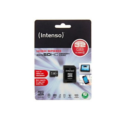 Memory Card microSD INTENSO 32GB  CLASS 10